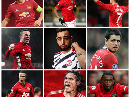 Top Ten Manchester United Summer Signings For The Last Ten Years, Bruno Fernandes Made The List