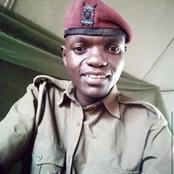 Pain And Grief Among Kenyans After Sudden Demise of A GSU Officer