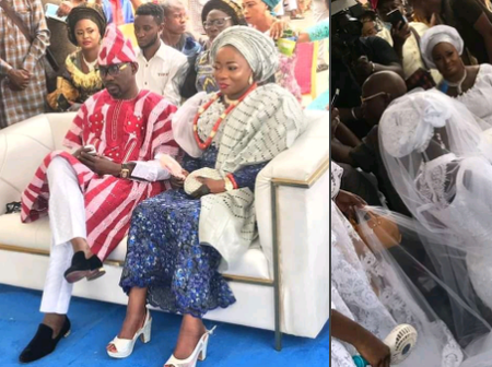 PHOTOS of Pasuma's Daughter That Got Married Today In Lagos