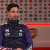 Arsenal manager Mikel Arteta Sends good news to fans regarding the Fitness Of Two key Players
