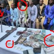 See Pictures Of Bandits And Gun-Runners Arrested By Police In Katsina State