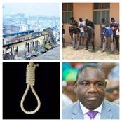 Latest Headlines For Today: 39-Year-Old To Die By Hanging, 13 Arrested In Lagos By EFCC
