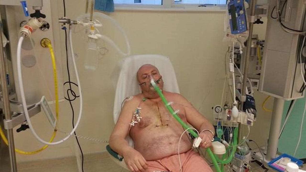 Plea for hundred defibrillators in Tamworth as man reveals how he survived heart attack