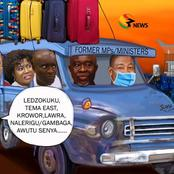 Picture Of The Day: Ghana Goes Wild After A Cartoon Of Outgoing Ministers Dropped On Social Media