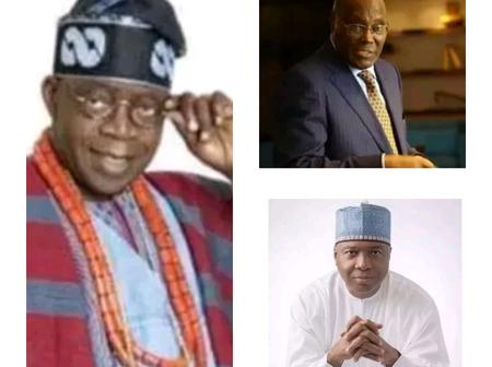 Who will you like to vote as Nigeria's next president among these 7?