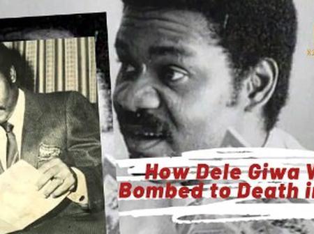 How Dele Giwa Was Killed With A Letter Bomb In 1986