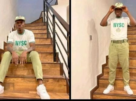 Zlatan Ibile passes out from NYSC Service