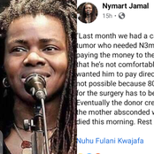 Reactions As Lady Says 3-Year-Old Baby Dies After Her Mom Ran Off With N3M Provided For Her Surgery