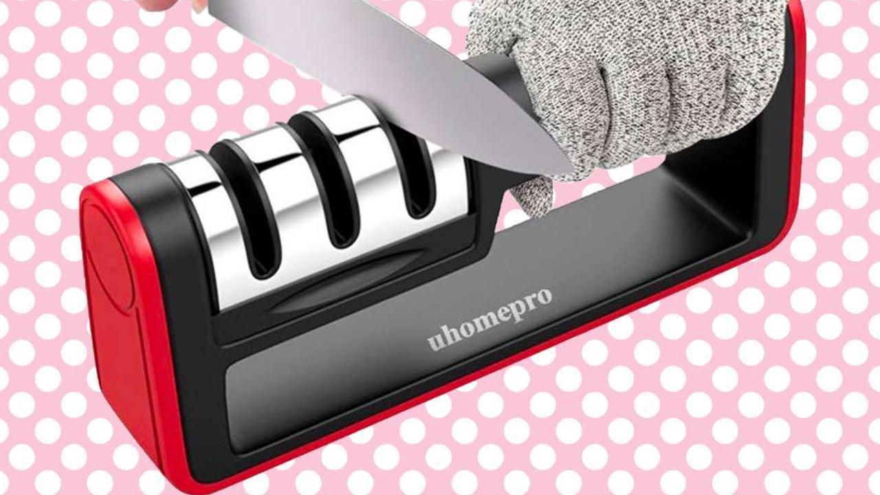 Trust me: a knife sharpener is a kitchen necessity
