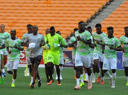 Nigeria VS lesotho; What You Need To Know Ahead Of The Game