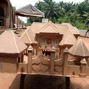 A young talented boy of 15 years from Ezinifite Aguata constructed this amazing work with carton