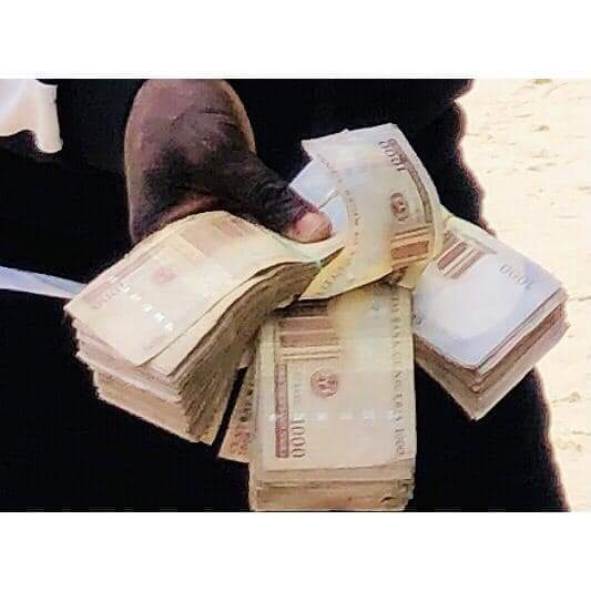 Pictures as Prophet Jeremiah Fufeyin gives cash support to his church members 16