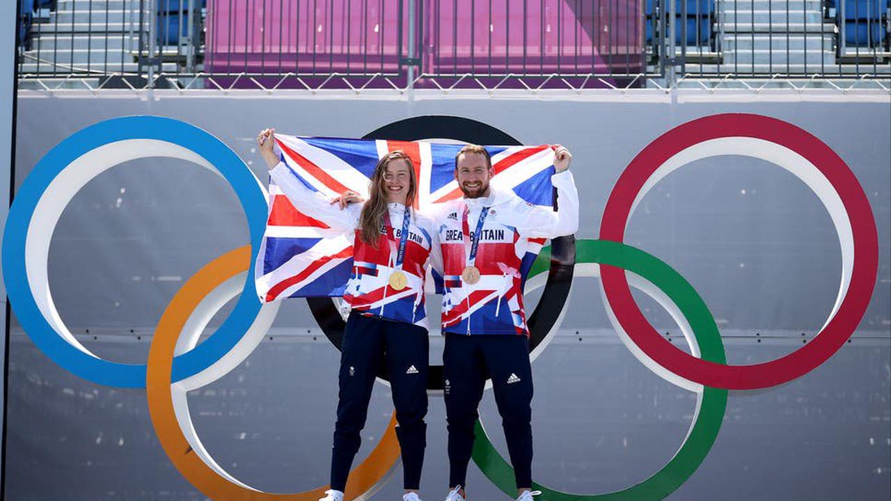 BMX freestyle gold and bronze for Team GB duo Worthington and Brooks