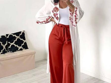 How to wear palazzo with other outfit