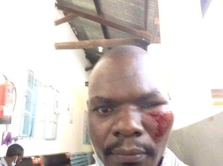Quick recovery to him. Loved and respected teacher escapes death after a trailer hit him
