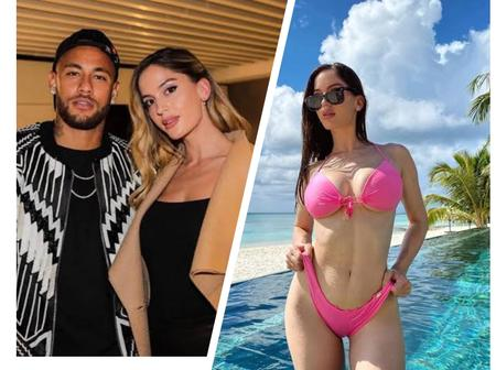 Beautiful Pictures Of The 29-Year-Old Model Neymar Junior is Currently Dating