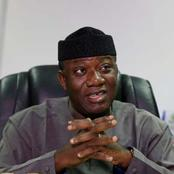 My Purported Suspension, A Big Joke Taken Too Far – Gov. Fayemi.