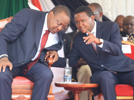 Uhuru to Blame For The Mess in Kenya - Gov Mutua Says as he Dares Him to Name The Thieves he Claimed