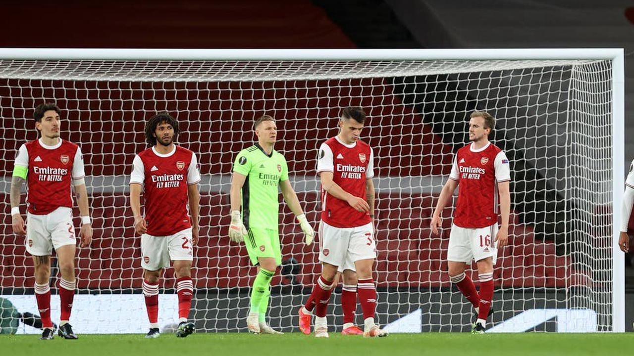 Arsenal 1-1 Slavia Prague: Gunners concede last-gasp equaliser in Europa League quarter-final first leg