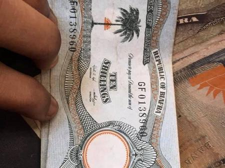 Look At The Old Biafran Currency A Tweep Found In His Fathers Wardrobe (Photos)