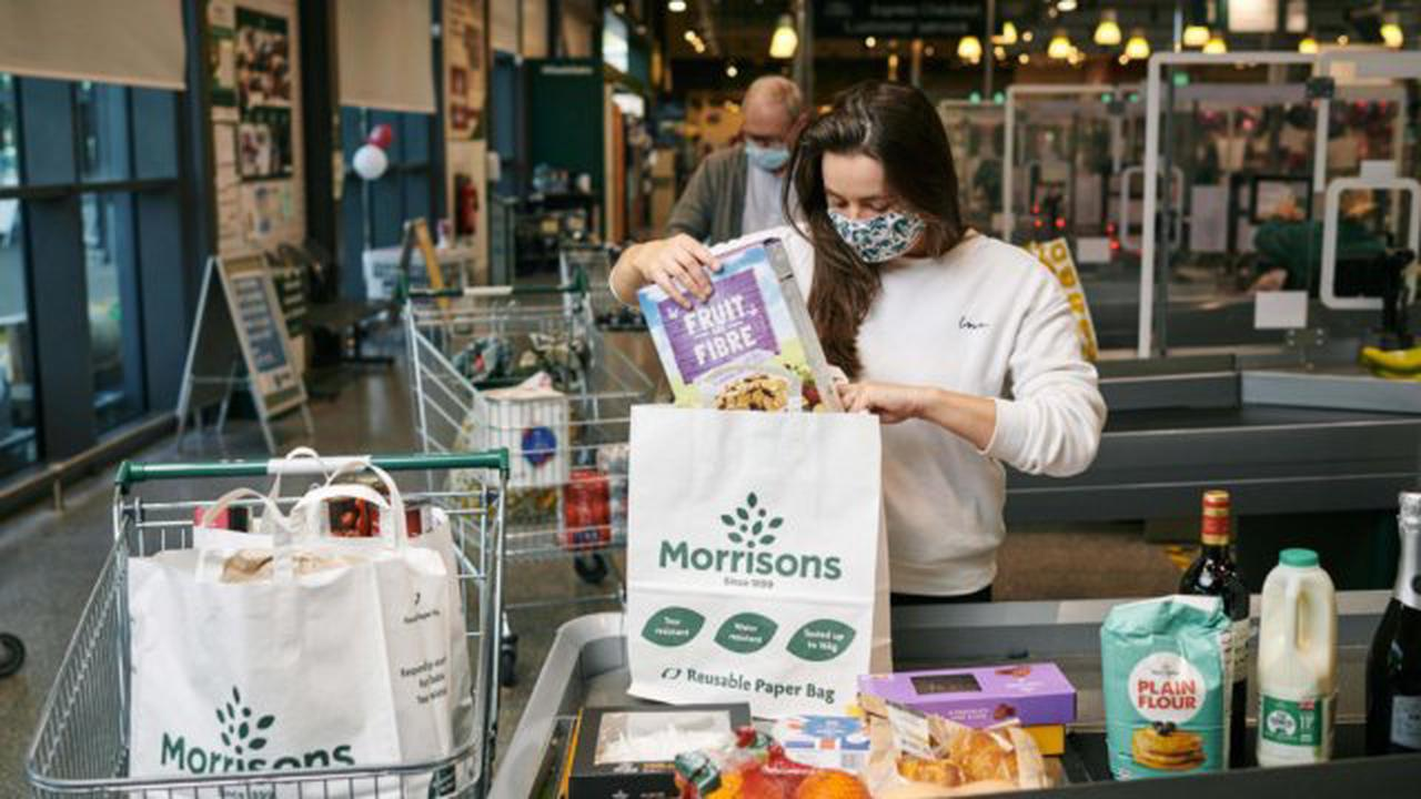 Morrisons becomes first supermarket to ditch all plastic bags and replace them with paper alternatives