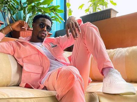 After Neo Snapped Pictures With A Pink Outfit, See The Name Ozo Called Him