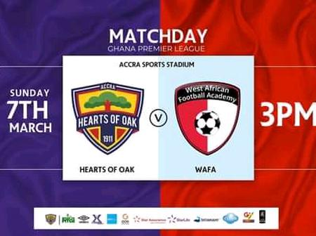 Newly appointed Hearts coach, Samuel Boadu names 20-man squad for today's GPL fixture with WAFA