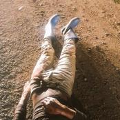 It Did Not End Well For An Illegal Miner As He Was Gunned Down And Dumped On The Side Of The Road.