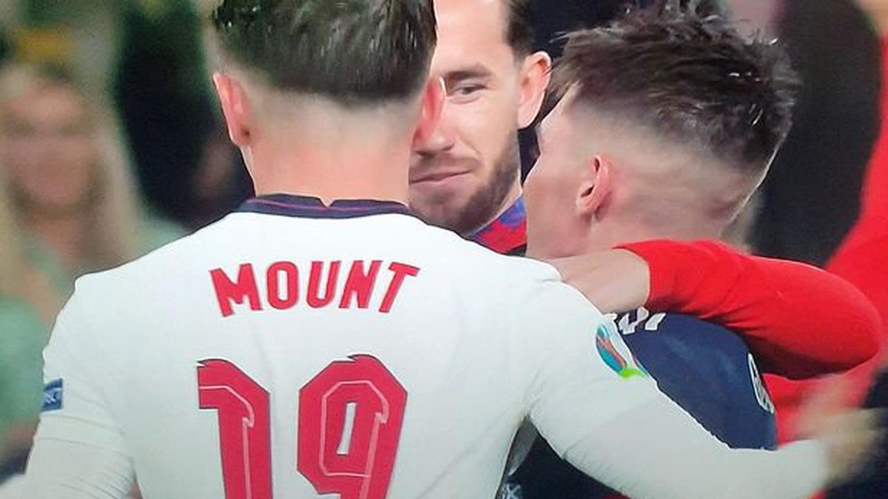 Mason Mount and Ben Chilwell facing 10 days out after 25 minute Billy Gilmour tunnel chat
