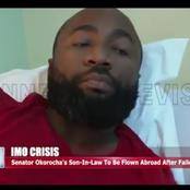 Rochas Okorocha's Son In Law To Be Flown Abroad After 3 Surgeries Done In Nigeria Failed [Photos]