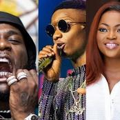 Wizkid, Davido, Burnaboy, Okonjo Iweala, others make Forbes African '100 Icons List.