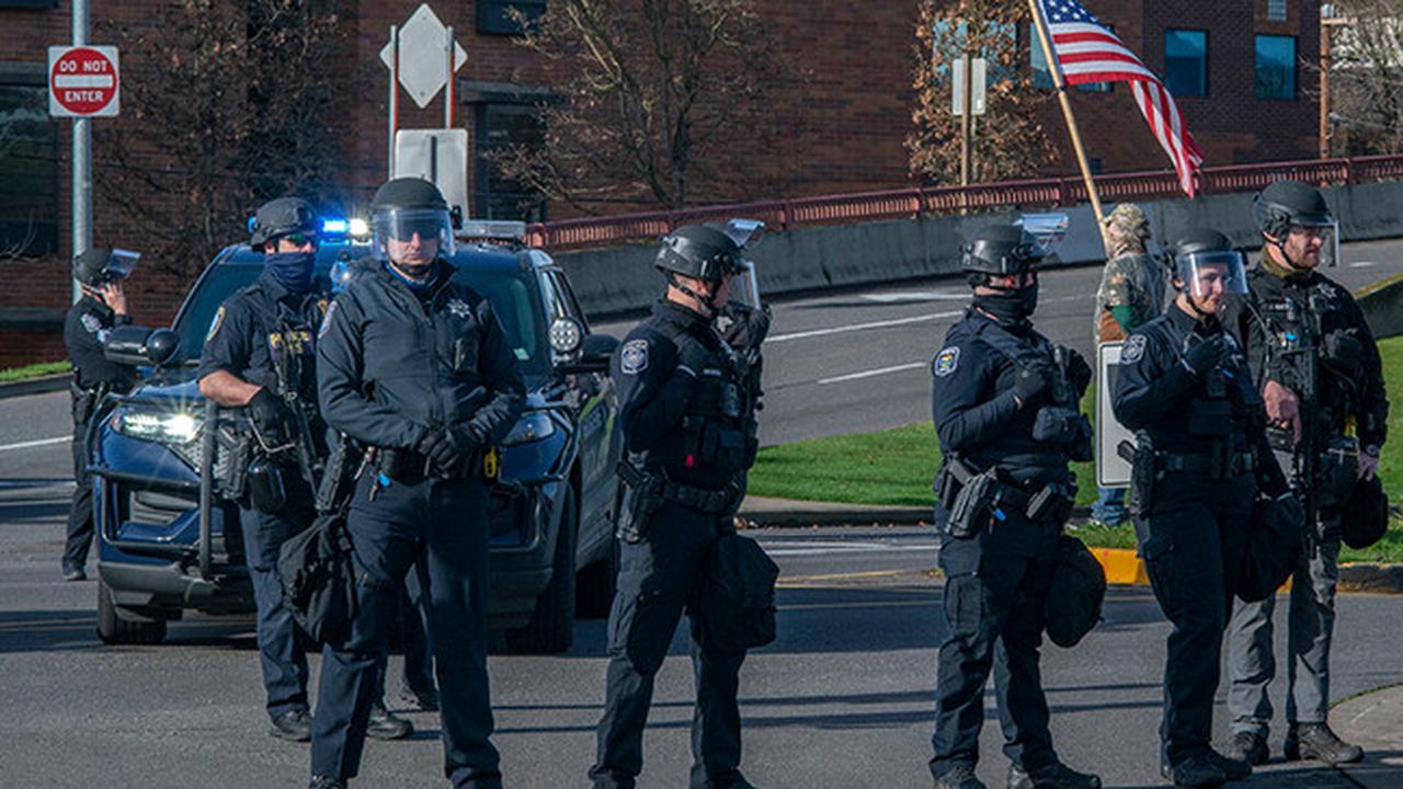 Pro-Trump Gathering In Eugene Sees Fights, Arrests