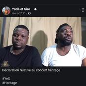 People: Yodé et Siro à propos de leur concert,