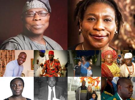 Meet the Twenty Children of Olusegun Obasanjo (PHOTOS)
