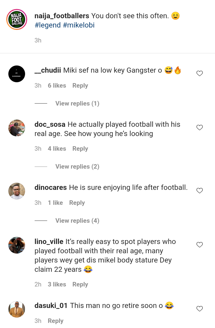 Check out what fans are saying after Mikel Obi was spotted dancing in a studio