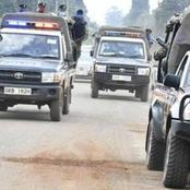 Police Choppers, Bulldozers Are Now At Kapedo Trying To Flush Out Criminals That Killed GSU Officer