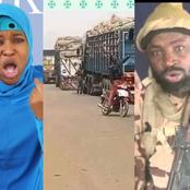 Food Blockade From North To South Is Ineffective, Use It To Starve The Terrorists, -Aisha Blows Hot