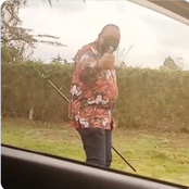 Hilarious Comments as President Uhuru is Seen Having a Stroll in an Undisclosed Location