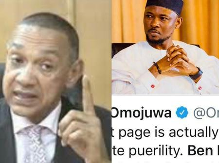 4 Years after Omojuwa insulted him, Ben Bruce digs up the post that Omojuwa insulted him on in 2017