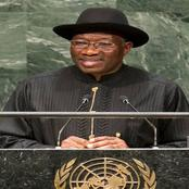 Goodluck Jonathan speaks on insecurity and his alleged interest in the 2023 presidential race