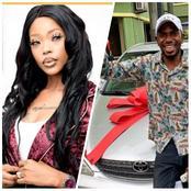 Yoruba Actress Aolat Surprised His Blood Brother, Actor Olasunkanmi Akanni With A Brand New Car.