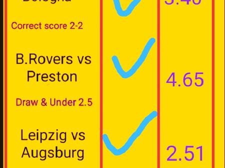 VIP Predictions With Over 3.5 Goals In First Half And FullTime Today