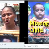 My Child Went Missing And Police Asked Me To Bring 200K Before They Can Bring Back My Child
