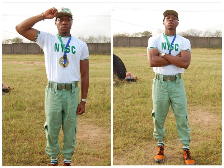 Check Out Pictures Of Ultimate Love Star, Iyke During His NYSC 16