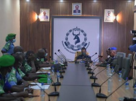 Somali Police and AMISOM Agree to Intensify Mogadishu Security Ahead of Elections
