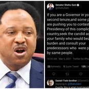 Senator Shehu Sani Advises Governors Who Are Eyeing Nigerian Presidency To Do One Thing First