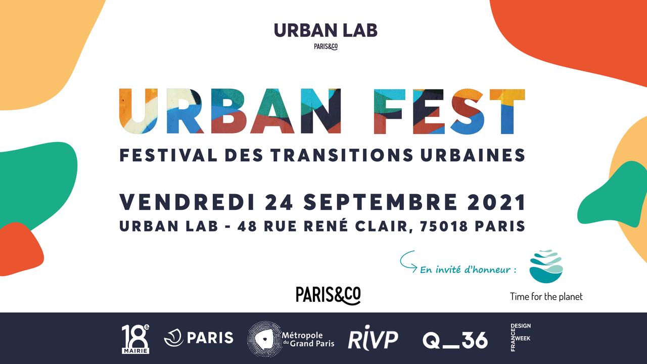 Urban Fest : Festival des transitions urbaines Urban Lab Urban Lab vendredi 24 septembre 2021