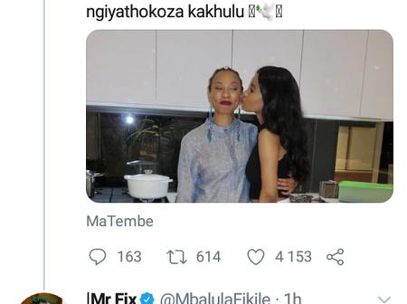 Fikile Mbalula share his sadness