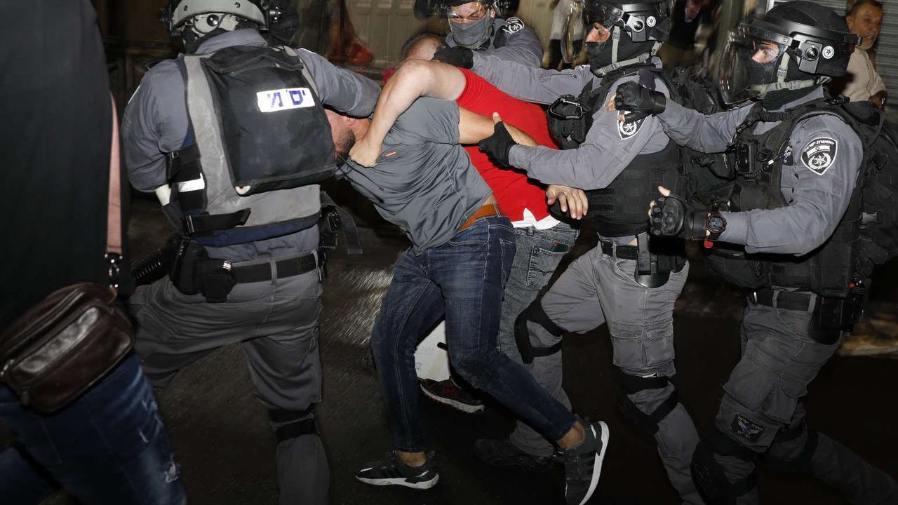 Biden administration calls violence in Jerusalem 'unacceptable'