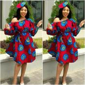 Christmas bell is ringing, check out these Adorable Ankara gowns to rock next month